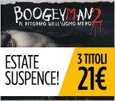 Estate Suspence! 3 titoli a 21€.
