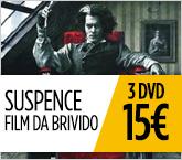 Un'estate da brividi sul filo del rasoio. 3 DVD a soli 15€.
