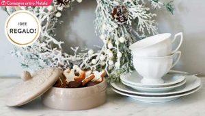 Idee regalo Dalani per Natale 2016. La colazione di Natale: tazze, vassoi e decori. Consegna entro Natale! © Dalani.