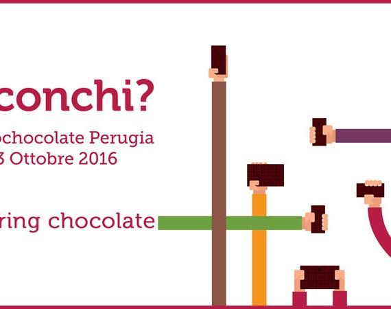Eurochocolate 2016: Perugia, 14 - 23 ottobre 2016. Condividi la tua esperienza golosa con l'hashtag #ConChi? © Eurochocolate