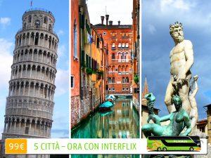 FlixBus InterFlix: scegli 5 città europee e viaggia a soli 99€.