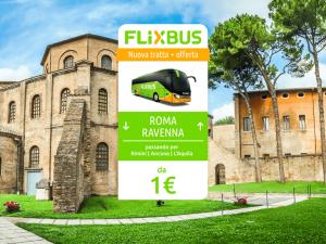 FlixBus nuova tratta Ravenna - Roma attiva dal 31/05/2016