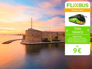 FlixBus nuova tratta notturna Venezia - Parigi attiva dal 15/12/2016