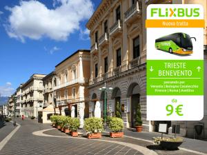 FlixBus nuova tratta Trieste - Benevento