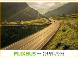 FlixBus per Valdichiana Outlet Village, fino al 31/12/2016. © Valdichiana Outlet Village, valdichianaoutlet.it