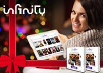 Offerte PayPal per Natale 2016. Infinity: 6 mesi a 19,99€ e 12 mesi a 39,50€ (GIFT6 - GIFT12). © PayPal