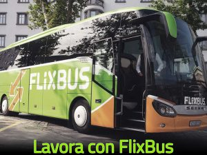Lavora con FlixBus: offerte di lavoro