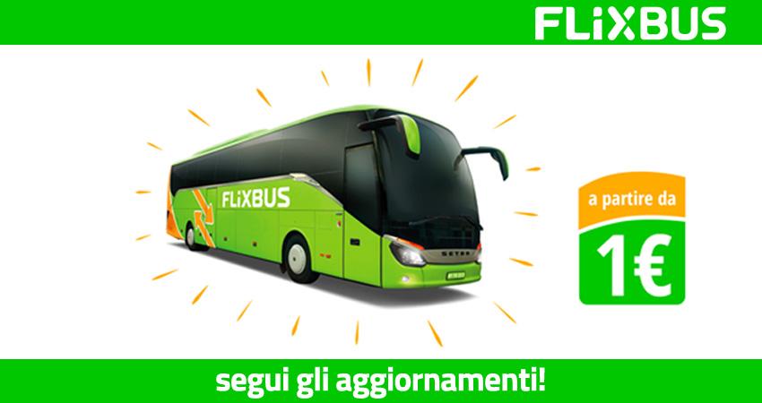 Le offerte di FlixBus
