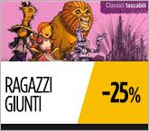Libri in Promozione: Giunti Ragazzi sconto del 25% fino al 27/06/2016