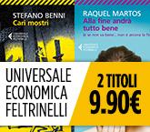 Libri in Promozione: Universale Economica Feltrinelli 2x9,90€ fino al 09/07/2016