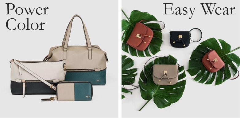 Moda Autunno 2016, le proposte di Carpisa: il mix&match della linea Power Color e le borse Easy Wear pensate per adattarsi agli outfit e alla donna che lavora.