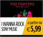 I migliori album di musica rock targati Sony Music in offerta a partire da €5,99.