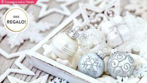 Idee regalo Dalani per Natale 2016. Natale di ghiaccio: accessori e deco color neve. Consegna entro Natale! © Dalani.