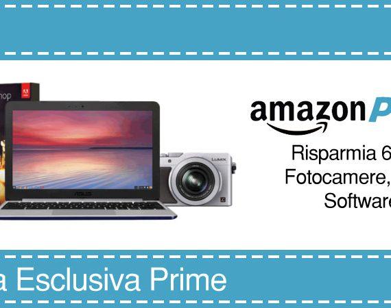 Offerta Esclusiva Prime: 60€ di buoni sconto Amazon riservato agli utenti Amazon Prime che caricheranno almeno una foto su Prime Foto entro il 31/10/2016. © Amazon.it
