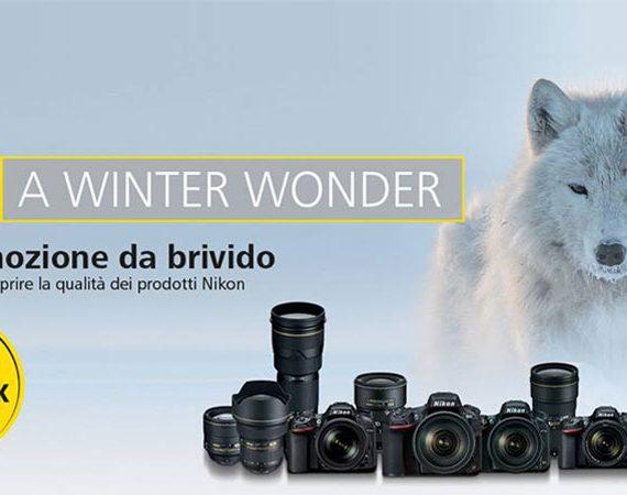 Operazione Nikon Cashback su Reflex e Ottiche dal 14/10/2016 al 15/01/2017. © Nikon Italia FB