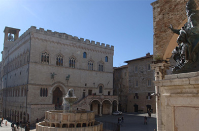 Perugia, Palazzo dei Priori © Comune di Perugia