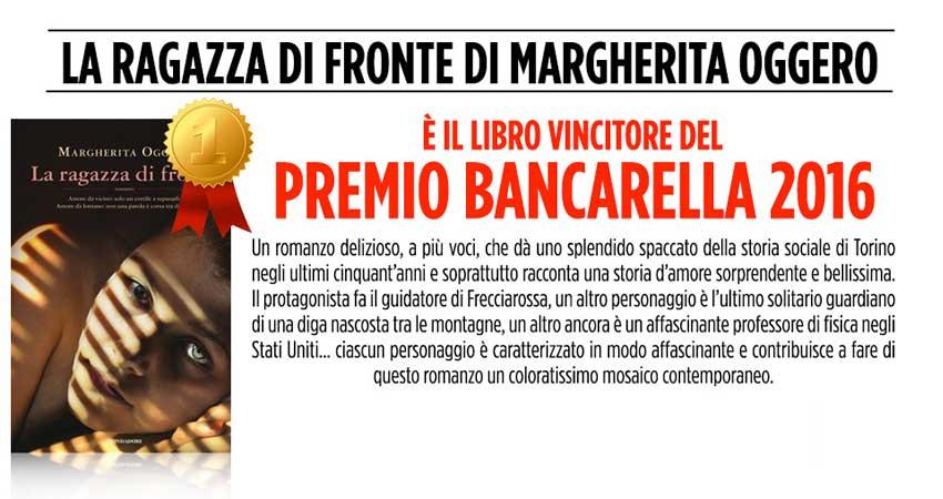 Il vincitore del Premio Bancarella 2016