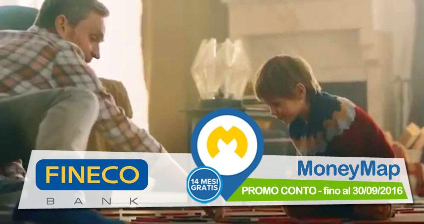 Promo Conto Fineco Bank: apri un conto con Fineco entro il 30/09/2016 e usi MoneyMap gratis per 14 mesi!
