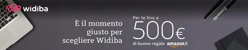 Promozione-Widiba-500e-Amazon-banner