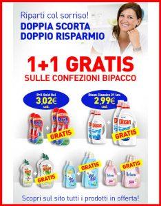 Promozioni Casa Henkel: acquistando le confezioni bipacco in offerta nella categoria lampeggiante
