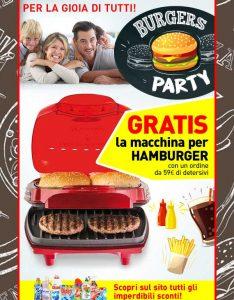 Promozioni Casa Henkel: acquistando su casahenkel.it almeno 59€ di prodotti, ricevi in regalo la macchina per hamburger Ariete, fino al 20/04/2017 alle ore 09:30. © CasaHenkel.it © OffertaExtrema.com