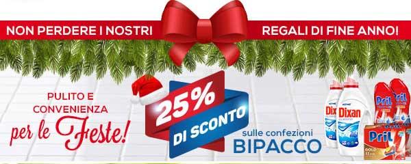 Promozioni Casa Henkel: sconto del 25% sulle confezioni bipacco, cumulabile con tutte le altre offerte. © CasaHenkel.it
