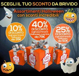 Promozioni Casa Henkel: Speciale Sconto Halloween sugli assortimenti e sugli ordini, dal 10% al 40%, fino al 02/11/2016 alle 12:00. © CasaHenkel.it