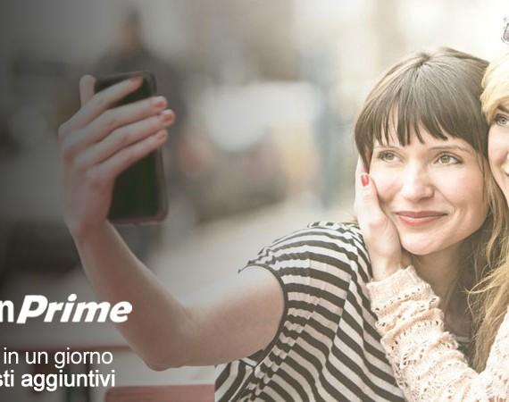 Prova Amazon Prime gratis per 30 giorni: Consegne in 1 giorno senza costi aggiuntivi e accesso anticipato alle Offerte Lampo e agli eventi Amazon BuyVIP