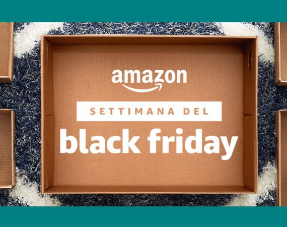 Settimana del Black Friday su Amazon.it: offerte su tutte le categorie per l'intera settimana in occasione del Black Friday 2017. © Amazon