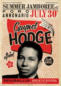 Gaynel Hodge, Summer Jamboree 2016, sabato 30 luglio, Senigallia