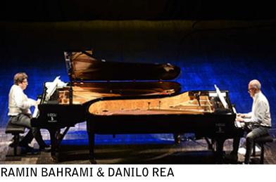 Ramin Bahrami & Danilo Rea a Umbria Jazz 2016 © Umbria Jazz
