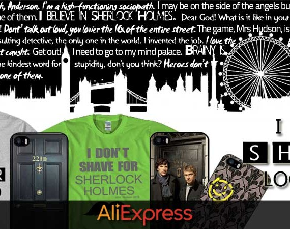 We Are Sherlocked con AliExpress